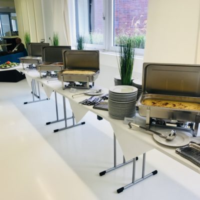 Catering aus dem Chafing Dish
