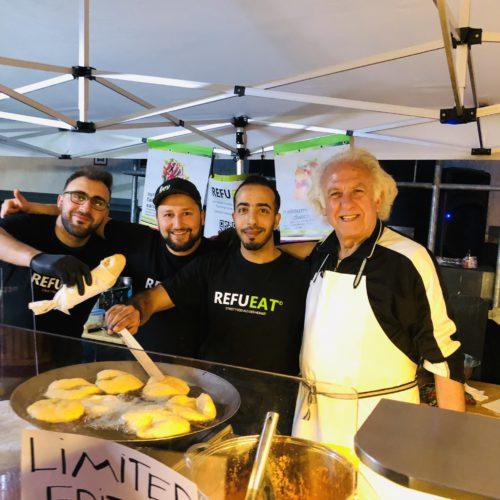 Pita Frita vom Foodbike (mit einem echten Napolitani)
