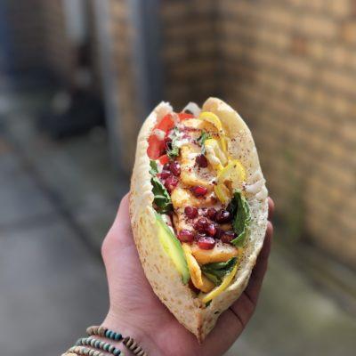 RefuEat Halloumi Sandwich (vegetarisch)