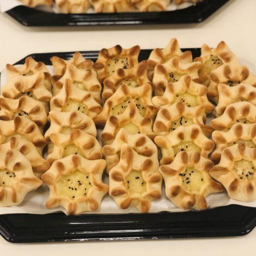Teigtaschen mit syrischem Käse (vegetarisch)
