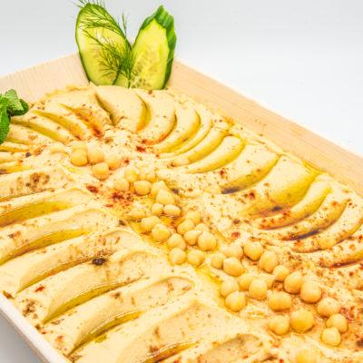 Hummusplatte (vegan)