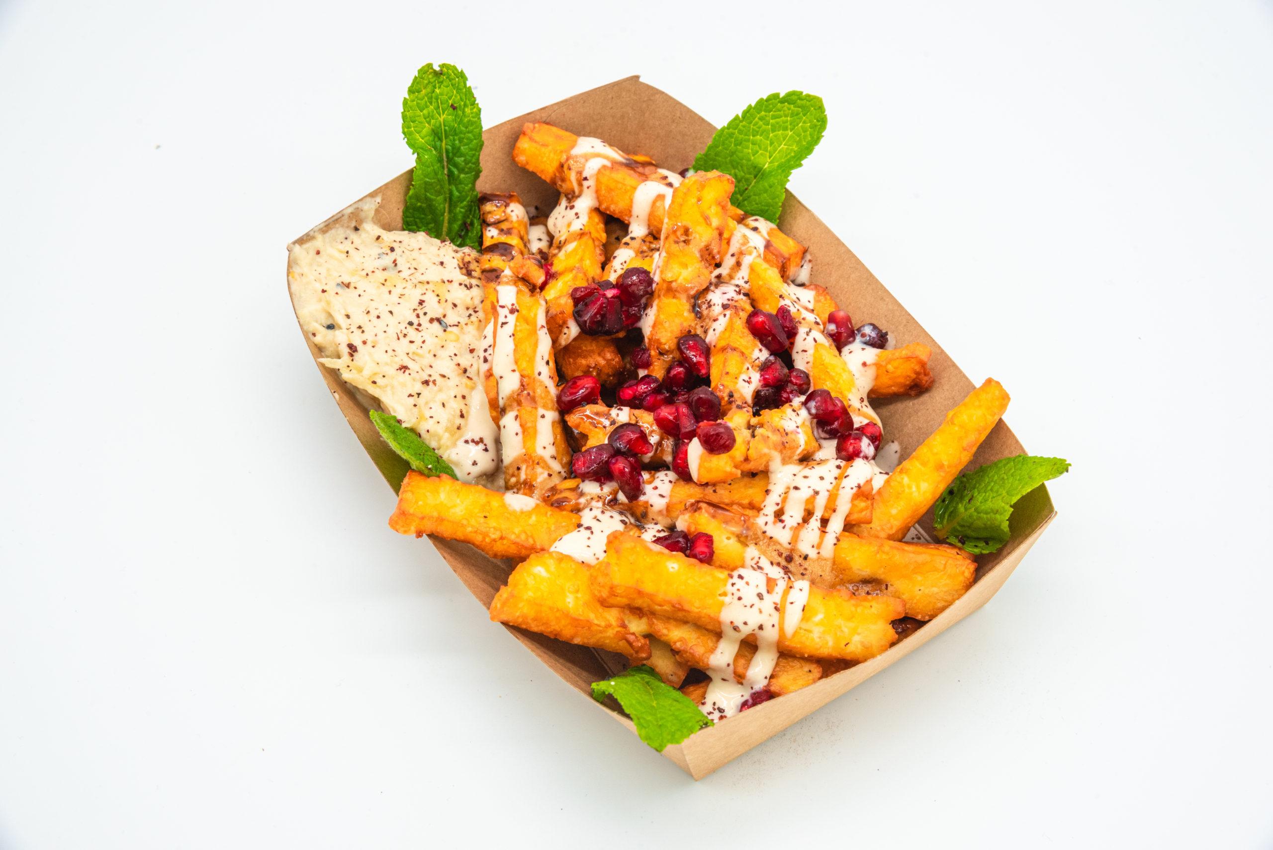 Halloumi Fries Nur Bei Uns Vegetarisch Refueat